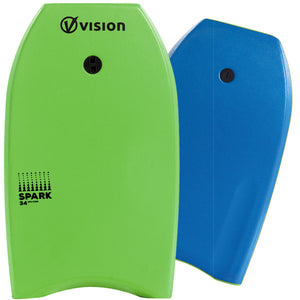 Vision Nipper Spark 34 Junior Bodyboard Green/Blue