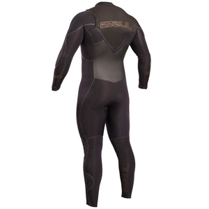 Gul Viper 4/3mm Mens Chest Zip Wetsuit | Back