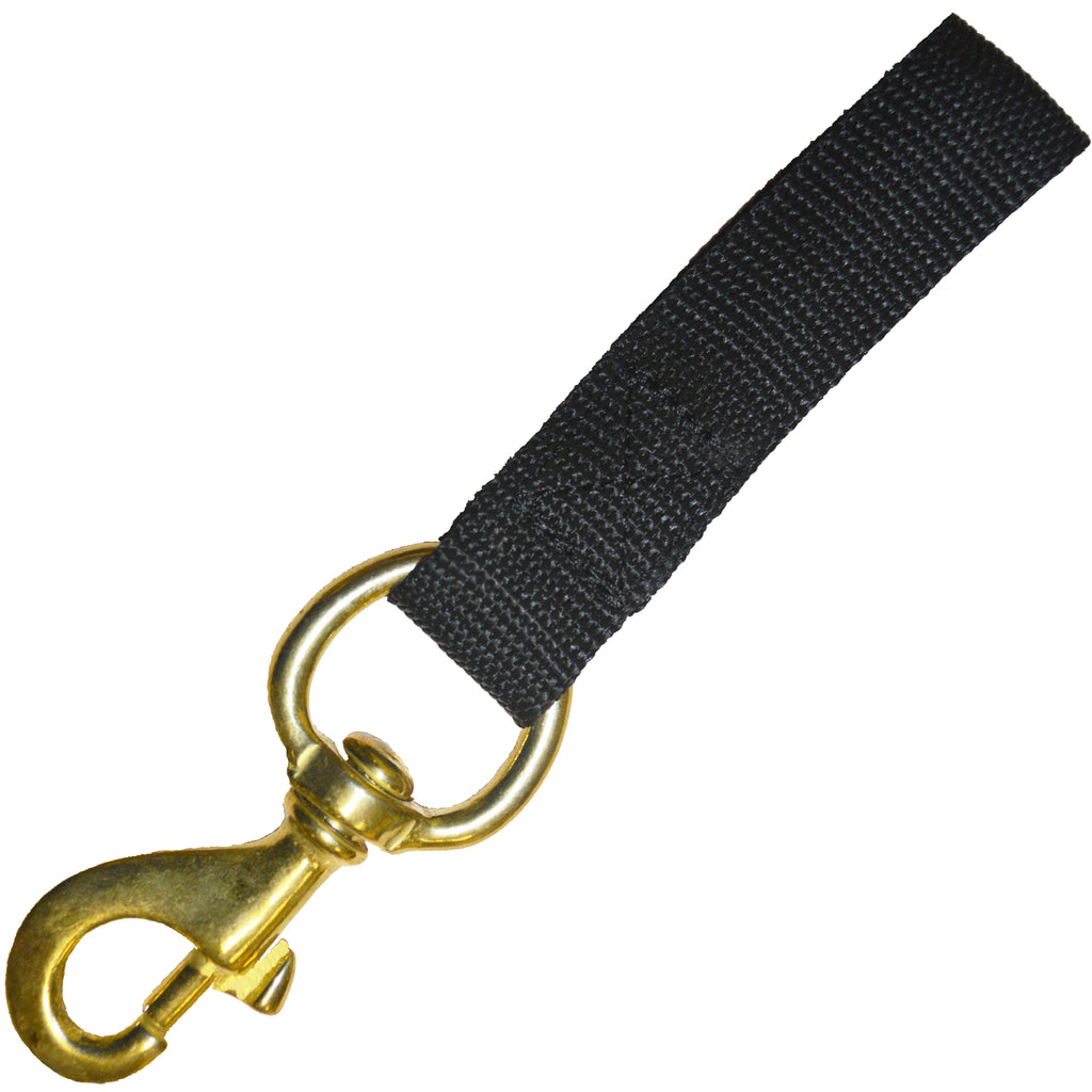 Beaver Small Bolt Snap on Webbing