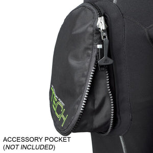 Waterproof W30 2.5mm Mens Wetsuit | Accessory Pocket Attatched