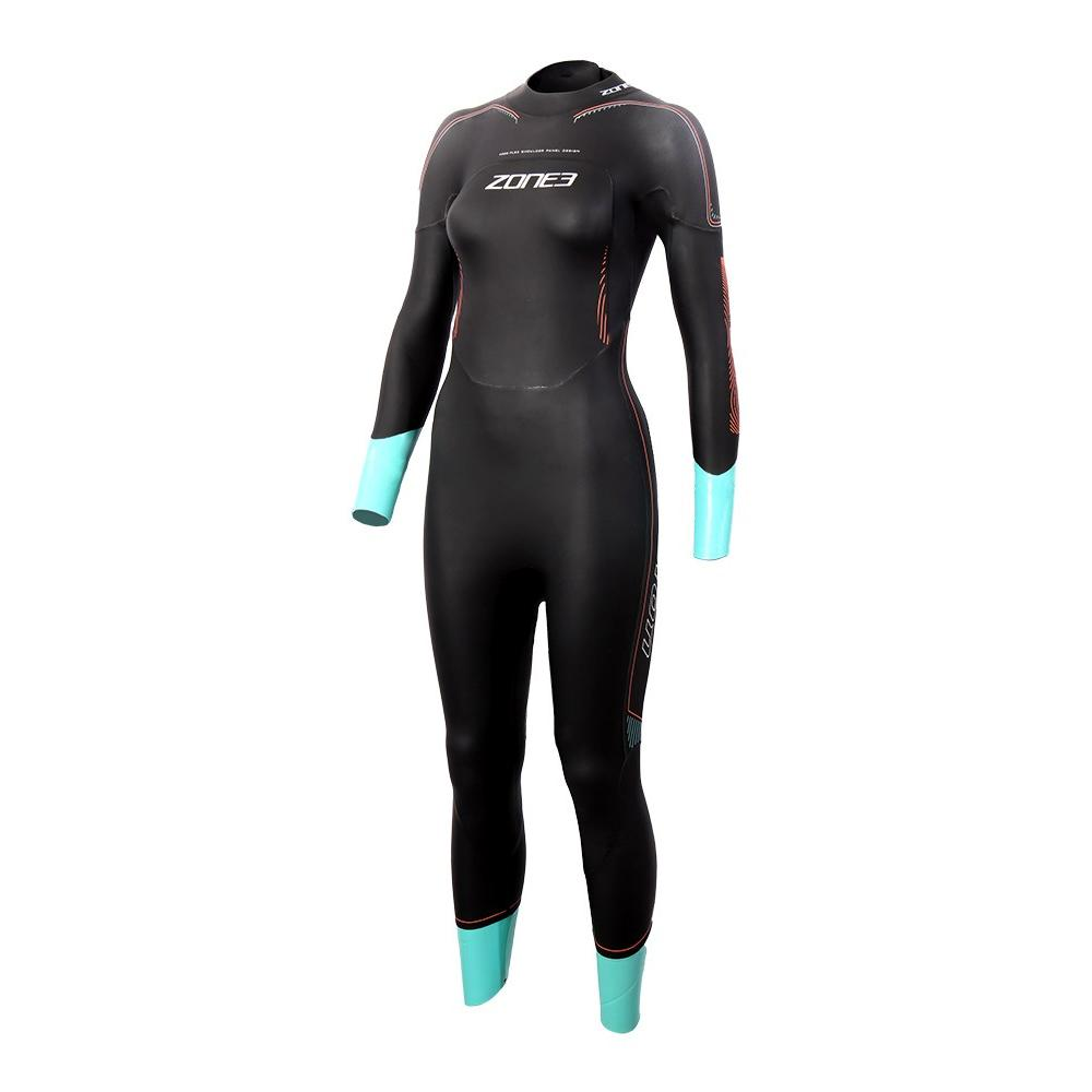Women s Zone3 Vision Triathlon Swimming Wetsuit – Watersports Warehouse a3e5b8695