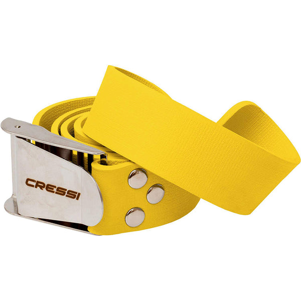 Cressi Elastic Quick Release Weight Belt in Yellow