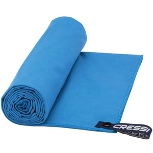 Cressi Microfibre Fast Drying Towel | Light Blue