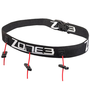 Zone3 Kids Race Number Belt