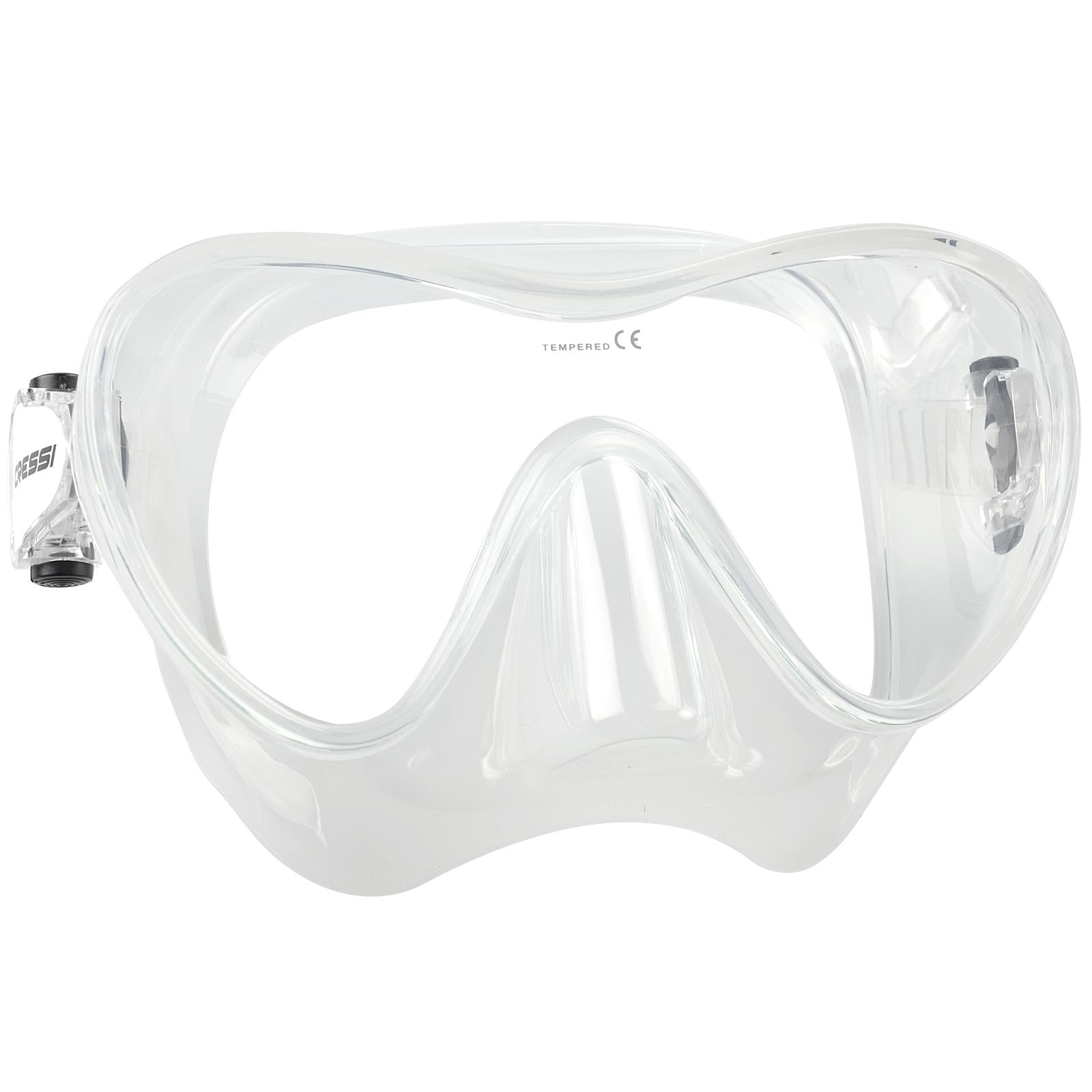 Mares Vento High-Quality Durable Mask and Snorkel Snorkeling Set Blue 411748