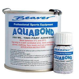 Beaver Aquabond 2-Part Drysuit Seal Adhesive