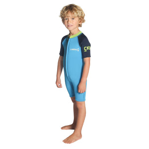 C-Skins Baby C-KID Shorty Wetsuit | Cyan/Navy