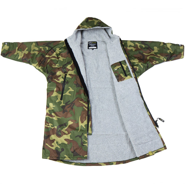 dryrobe Advance Long Sleeve Camo | Grey