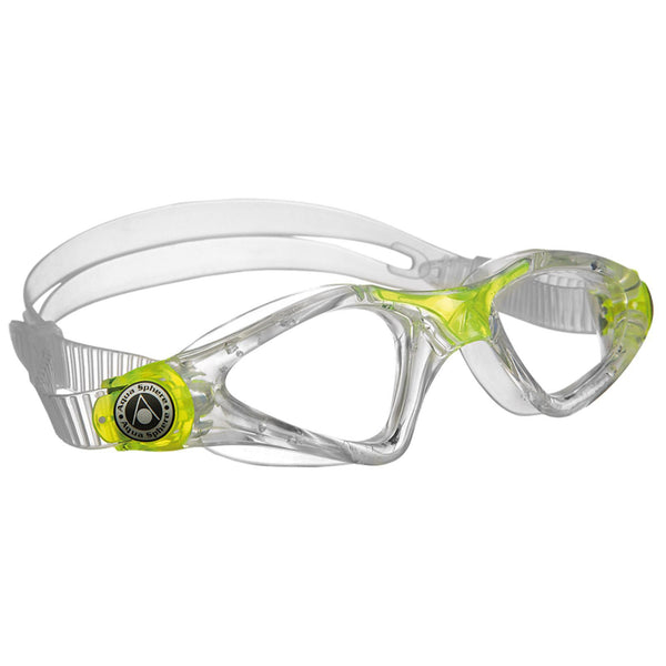 Aqua Sphere Kayenne Junior Goggles | Clear/Lime