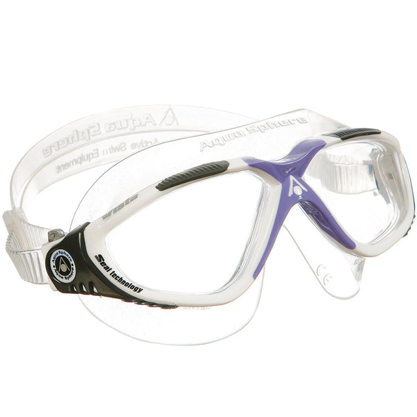 Aqua Sphere Vista Women's Swimming Goggles | White/Purple