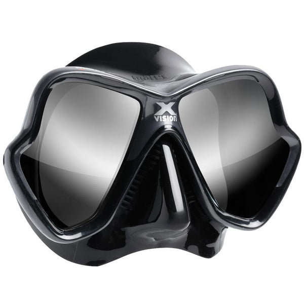 Mares X-Vision Ultra LiquidSkin Mask Mirrored Lenses | Mirrored Silver
