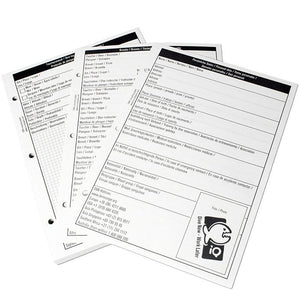 iQ Dive Log Refill Pages