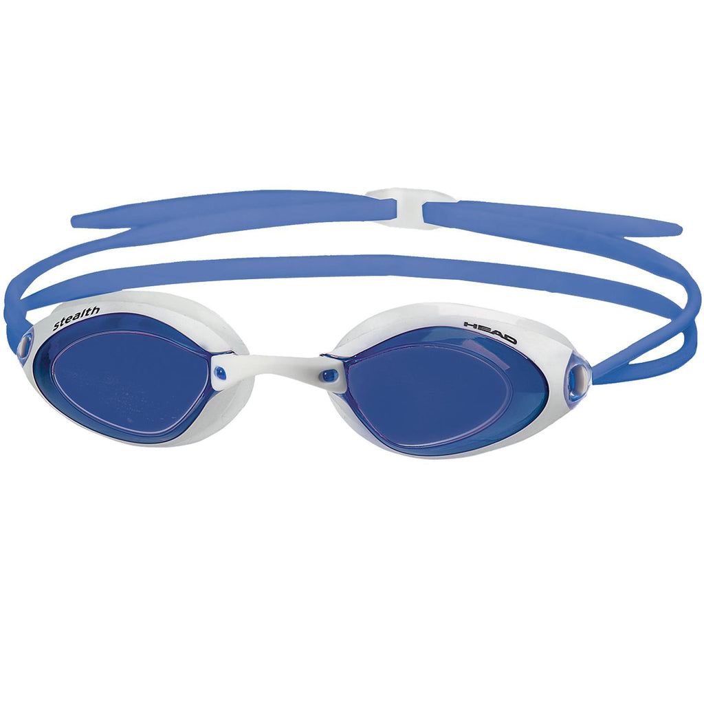 Head Stealth Swimming Goggles | White/Blue