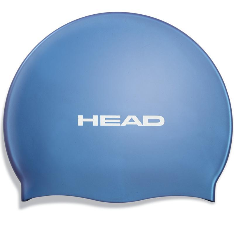 Head Silicone Swimming Cap | Blue
