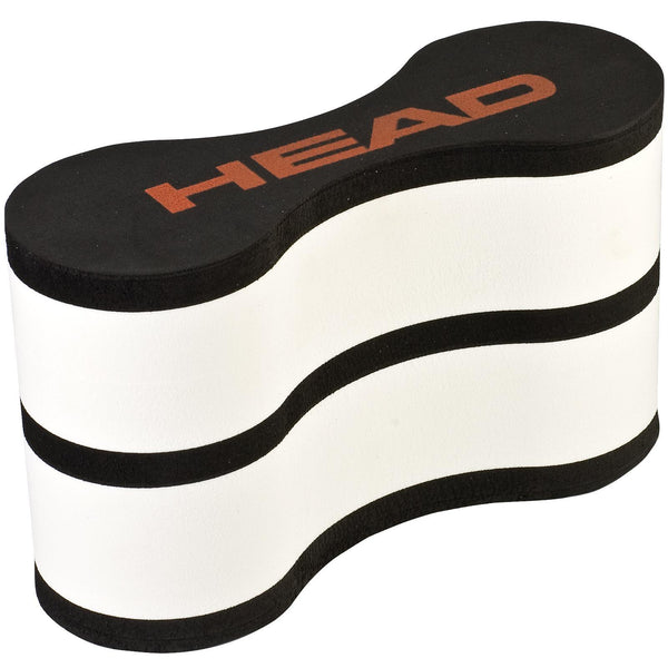 Head Swim Training Pull Buoy - Black and white