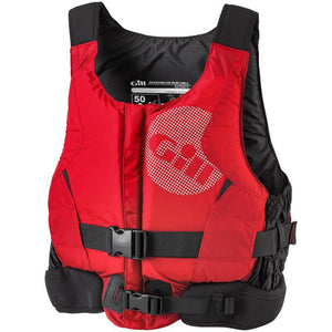 Gill 50N Zip Up Buoyancy Aids | Red