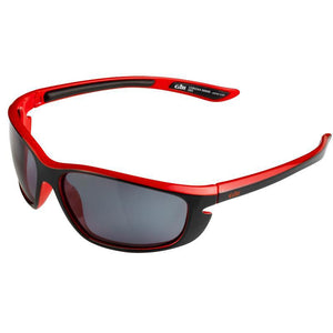 Gill Corona Polarised Sunglasses | Black/Red