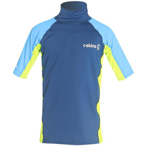 C-Skins Junior UV50 Short Sleeve Rash Vest