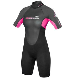 C-Skins Element 3/2mm Girls Summer Shorty Wetsuit