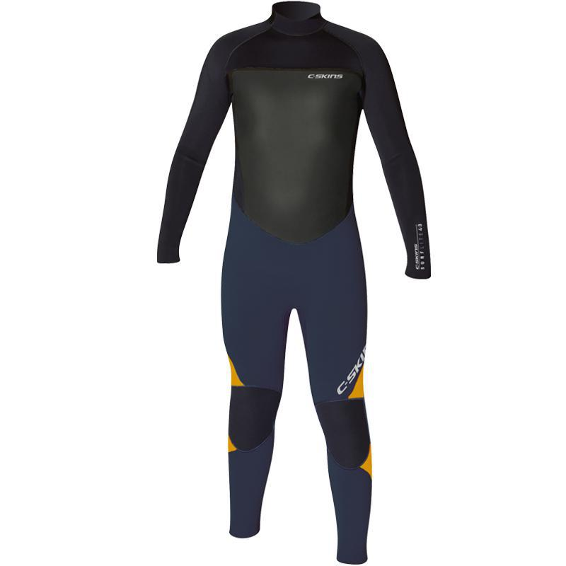 C-Skins Surflite 4/3mm Glued & Blindstitched Junior Wetsuit