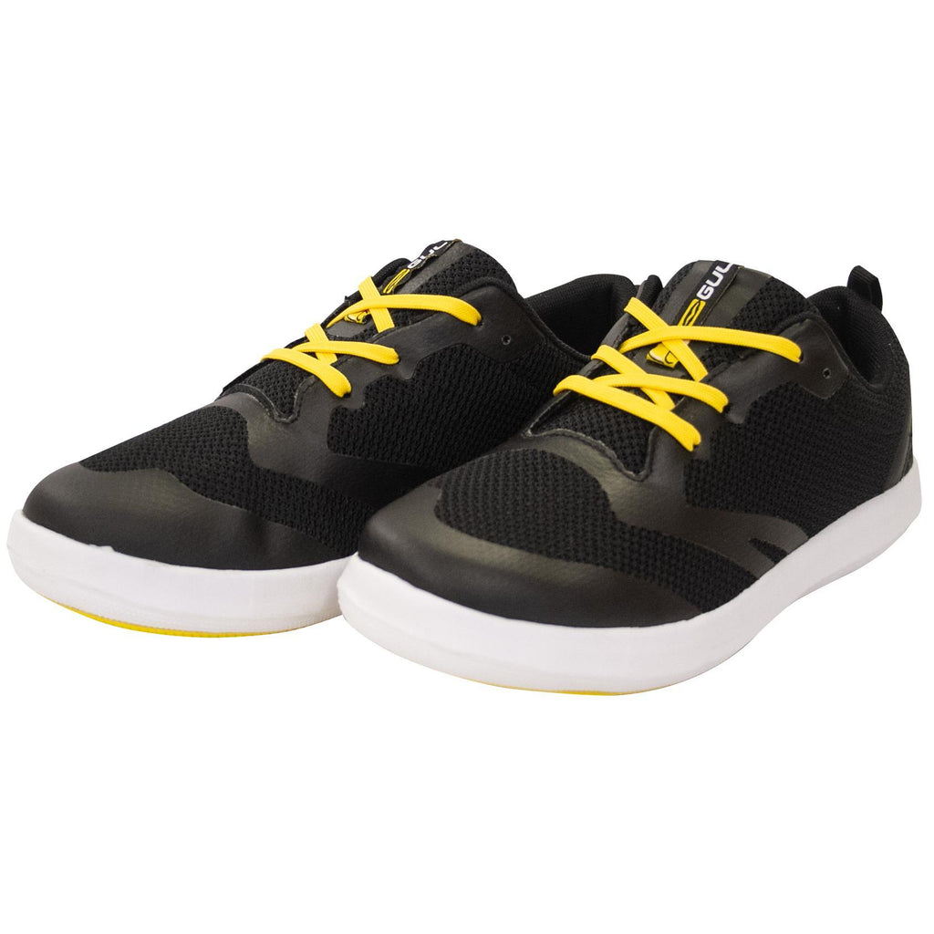 Gul Hydro Aqua Grip SUP Shoes | Black Yellow Front