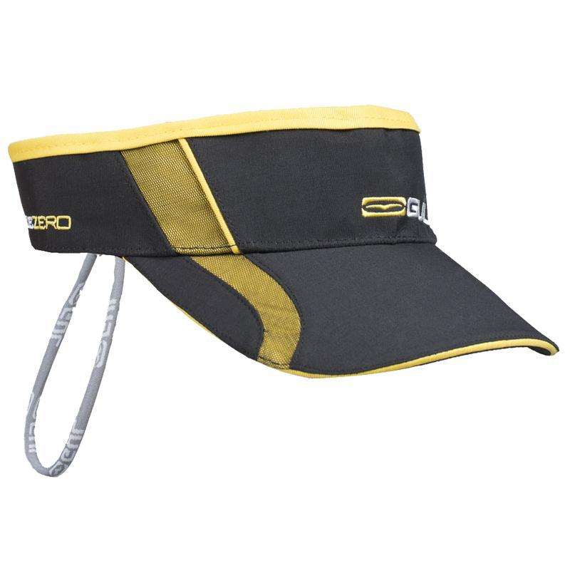 Gul Code Zero Quickdry Visor including cap retainer | Black/Yellow