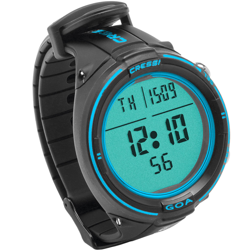 Cressi Goa Dive Computer | Black/Blue