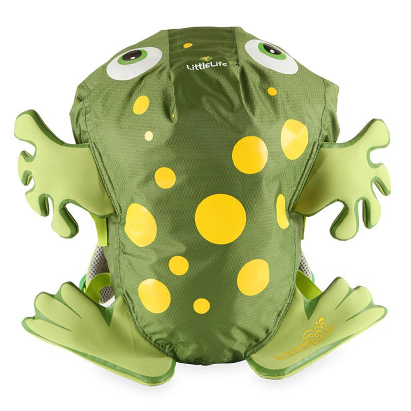 Kids LittleLife SwimPak Backpack - Frog