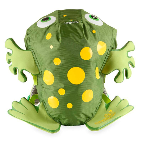 Kids LittleLife SwimPak Backpack - Frog | Green