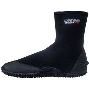 Cressi Minorca Isla 3mm Zipped Boot | Outside
