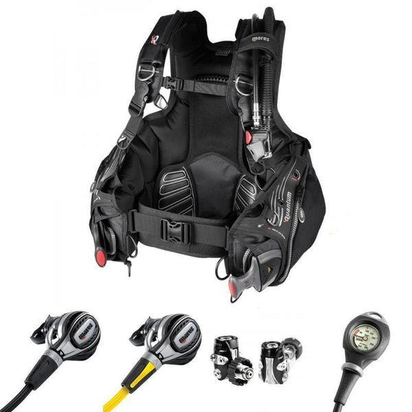 Mares Quantum Fusion Scuba Diving Package