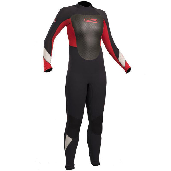 Childrens Gul Response 4/3mm Wetsuit | Black/Red