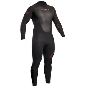 Gul Response 3/2mm Mens Spring Summer Wetsuit | Black