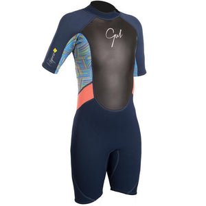 Girls Gul Response 3/2mm Shortie Wetsuit | Front
