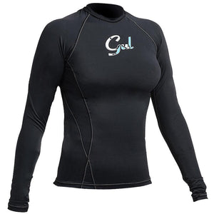 Gul Swami Women's Rash Vest Long Sleeved UV50 | Black