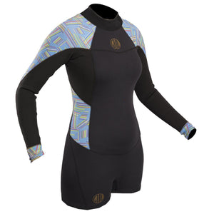 Gul Surflite Spring 2mm Long Sleeve Shortie Wetsuit | Front
