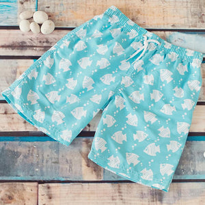Big Fisch Fish Boys Swim Boardshorts