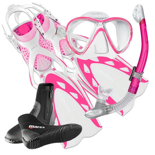 Mares X-Stream Ladies Light Snorkelling & Diving Set