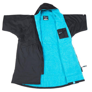 dryrobe Advance Short Sleeve Adult Changing Robe - Small | Blue