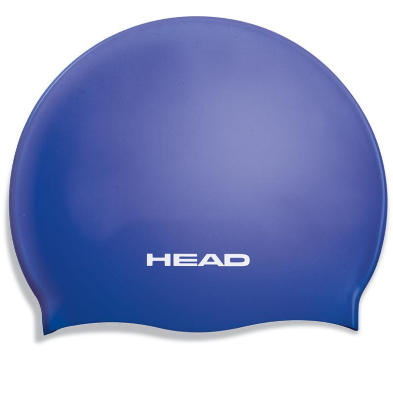 COVER HEAD Nylon//Spandex Childs SWIM CAP-BLU ROYAL