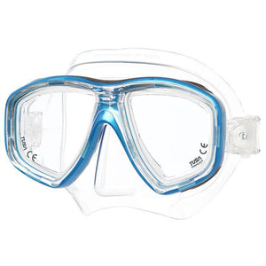 Tusa Freedom Ceos Mask & Minus Corrective Lenses - Fishtail Blue