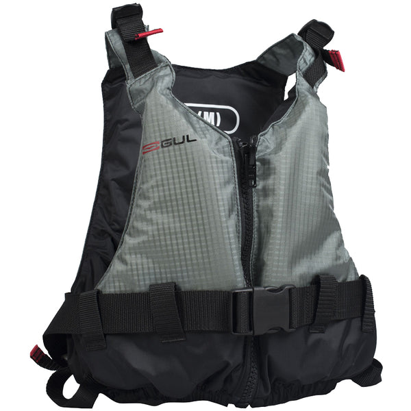 Junior Gul Rec Vest 50N Buoyancy Aid Silver Grey | Front