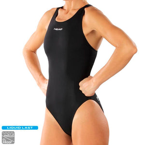 Head Solid Ultra Hi-Leg Ultra Back Swimsuit