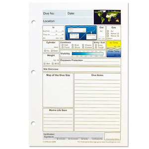 Looseleaf Logbook inserts