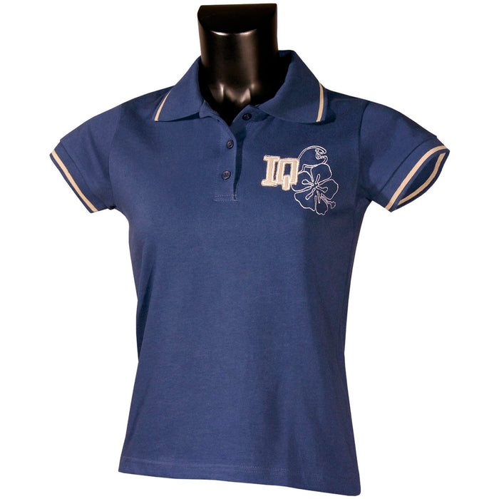 iQ Ladies Polo Neck T-Shirt - Small size 8-10 Only