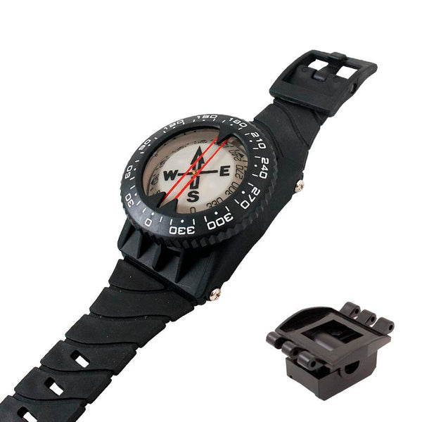 Cressi Wrist Compass and BCD Fixing Kit