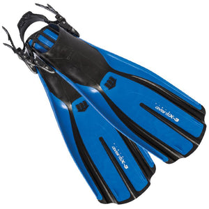 Mares Avanti X3 Fins for Scuba Diving | Blue