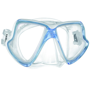Mares X-Vision MID Mask for Smaller Faces | White/Blue
