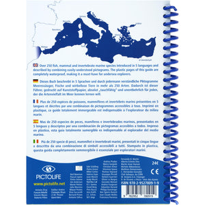 Marine Pictolife Fish ID Guide Book of the Mediterranean | Map of Area
