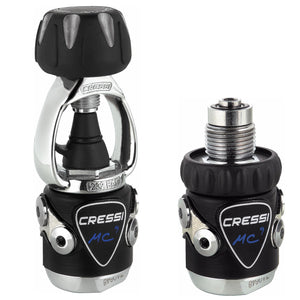 Cressi XS Compact Pro MC9-SC Regulator | Int & Din